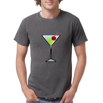 Green Apple Martini Mens Comfort Colors Shirt