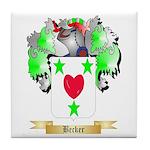 Becker Tile Coaster
