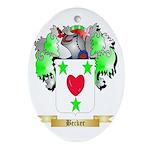 Becker Ornament (Oval)