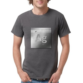 Silver (Ag) Mens Comfort Colors Shirt