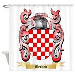 Becken Shower Curtain