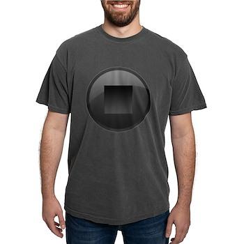 Stop Button Mens Comfort Colors Shirt