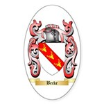 Becke Sticker (Oval 50 pk)