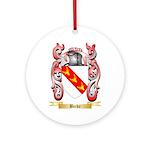Becke Ornament (Round)