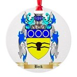 Beck Round Ornament