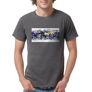 Visible Earth from Space Mens Comfort Colors Shirt