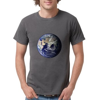 Eastern Earth from Space Mens Comfort Colors Shirt