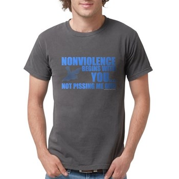 Nonviolence Begins with You.. Mens Comfort Colors