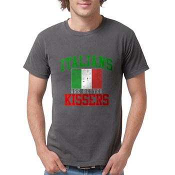 Italians Are Better Kissers Mens Comfort Colors Sh