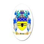 Bechu 20x12 Oval Wall Decal