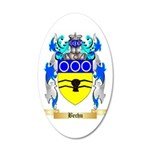 Bechu 35x21 Oval Wall Decal