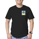Bechillon Men's Fitted T-Shirt (dark)