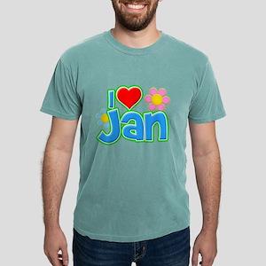 I Heart Jan Mens Comfort Colors Shirt