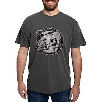 Distressed Wild Rat Stamp Mens Comfort Colors Shir