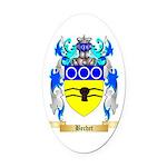 Bechet Oval Car Magnet