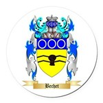 Bechet Round Car Magnet