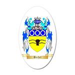 Bechet 20x12 Oval Wall Decal