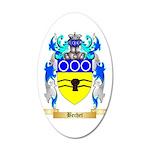Bechet 35x21 Oval Wall Decal
