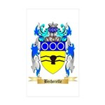 Becherelle Sticker (Rectangle 10 pk)