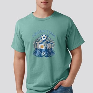 Argentina Soccer Mens Comfort Colors Shirt