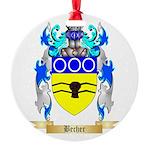 Becher Round Ornament