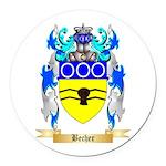 Becher Round Car Magnet