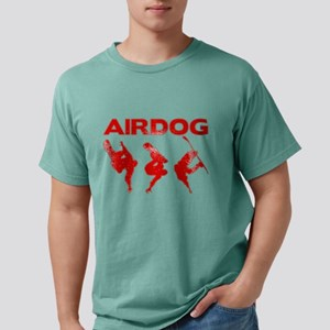 Red Snowboard Airdog Mens Comfort Colors Shirt