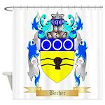 Becher Shower Curtain