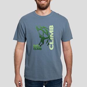 Eat Sleep Climb Mens Comfort Colors Shirt