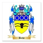 Beche Square Car Magnet 3