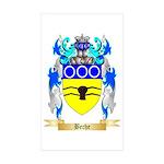 Beche Sticker (Rectangle 10 pk)