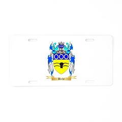 Beche Aluminum License Plate