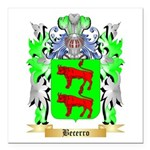 Becerro Square Car Magnet 3
