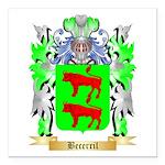 Becerril Square Car Magnet 3