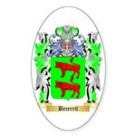Becerril Sticker (Oval 50 pk)