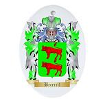 Becerril Ornament (Oval)