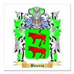 Becerra Square Car Magnet 3