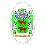 Becerra Sticker (Oval)