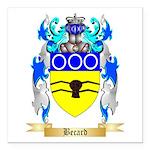 Becard Square Car Magnet 3
