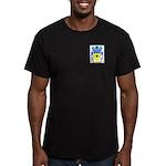 Bec Men's Fitted T-Shirt (dark)