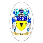 Bec Sticker (Oval 50 pk)
