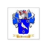 Beavin Square Sticker 3