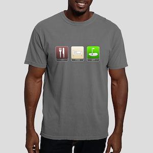Eat, Sleep, Golf Mens Comfort Colors Shirt