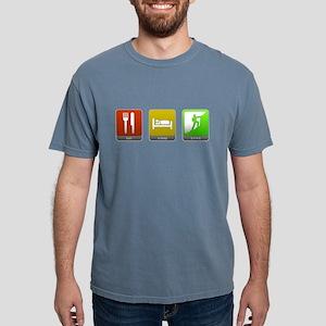 Eat, Sleep, Climb Mens Comfort Colors Shirt