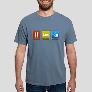 Eat, Sleep, Fish Mens Comfort Colors Shirt