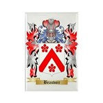 Beauvoir Rectangle Magnet (100 pack)