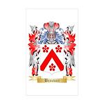Beauvoir Sticker (Rectangle 50 pk)