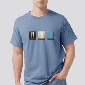 Eat, Sleep, Style Mens Comfort Colors Shirt