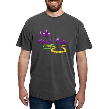 I Fleur-de-Lis Mardi Gras Mens Comfort Colors Shir
