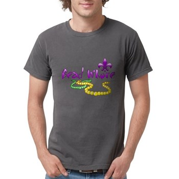 Mardi Gras Bead Whore Mens Comfort Colors Shirt